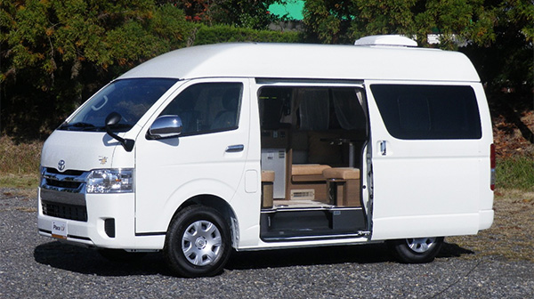 新春福袋に特別仕様のキャンピングカーが登場!