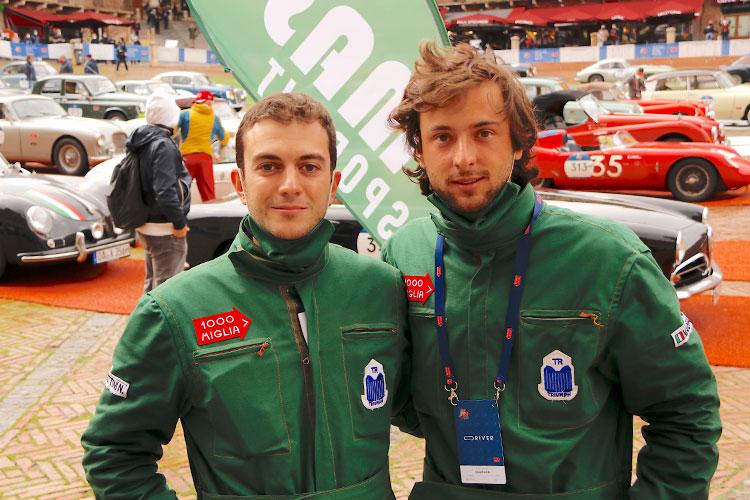 2020年の参加者中、最年少ペアであるニコロ&フィリッポ組。いずれも1995年生まれである