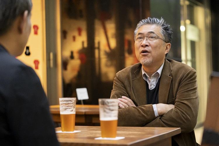 世界を取ったクラフトビール 水墨画を意識した「伊勢角屋麦酒・ペールエール」