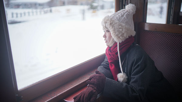 ストーブ列車に乗って雪景色を進む 青森・津軽の旅