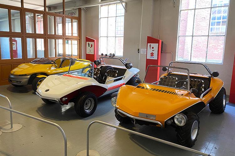眠れる森のコンセプトカーたち ベルトーネ・コレクションを訪ねて