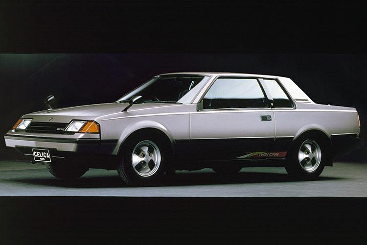 シャープなウェッジシェイプと軽快な走りが印象に残る 3代目トヨタ・セリカ