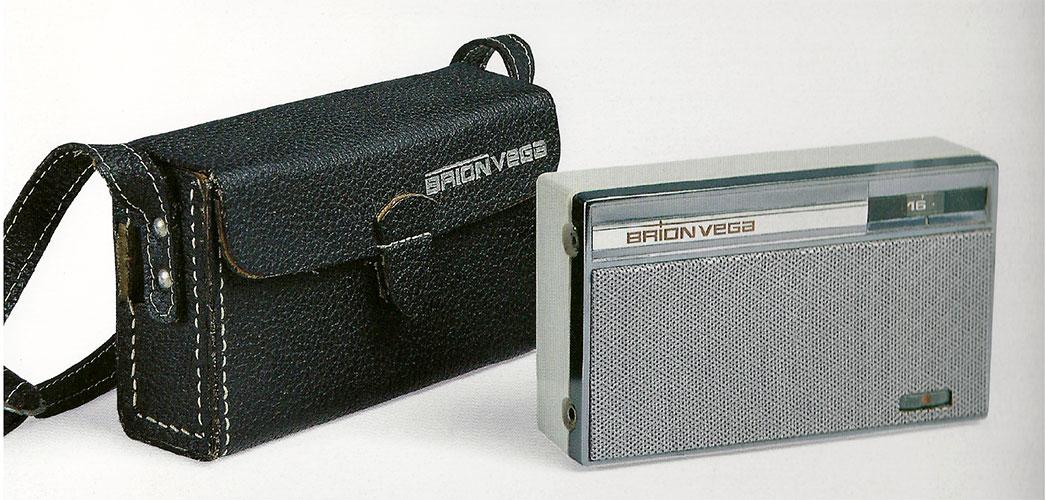 「ウェアイットts217」のインスピレーション源となった1960年代のブリオンヴェガ製ラジオ