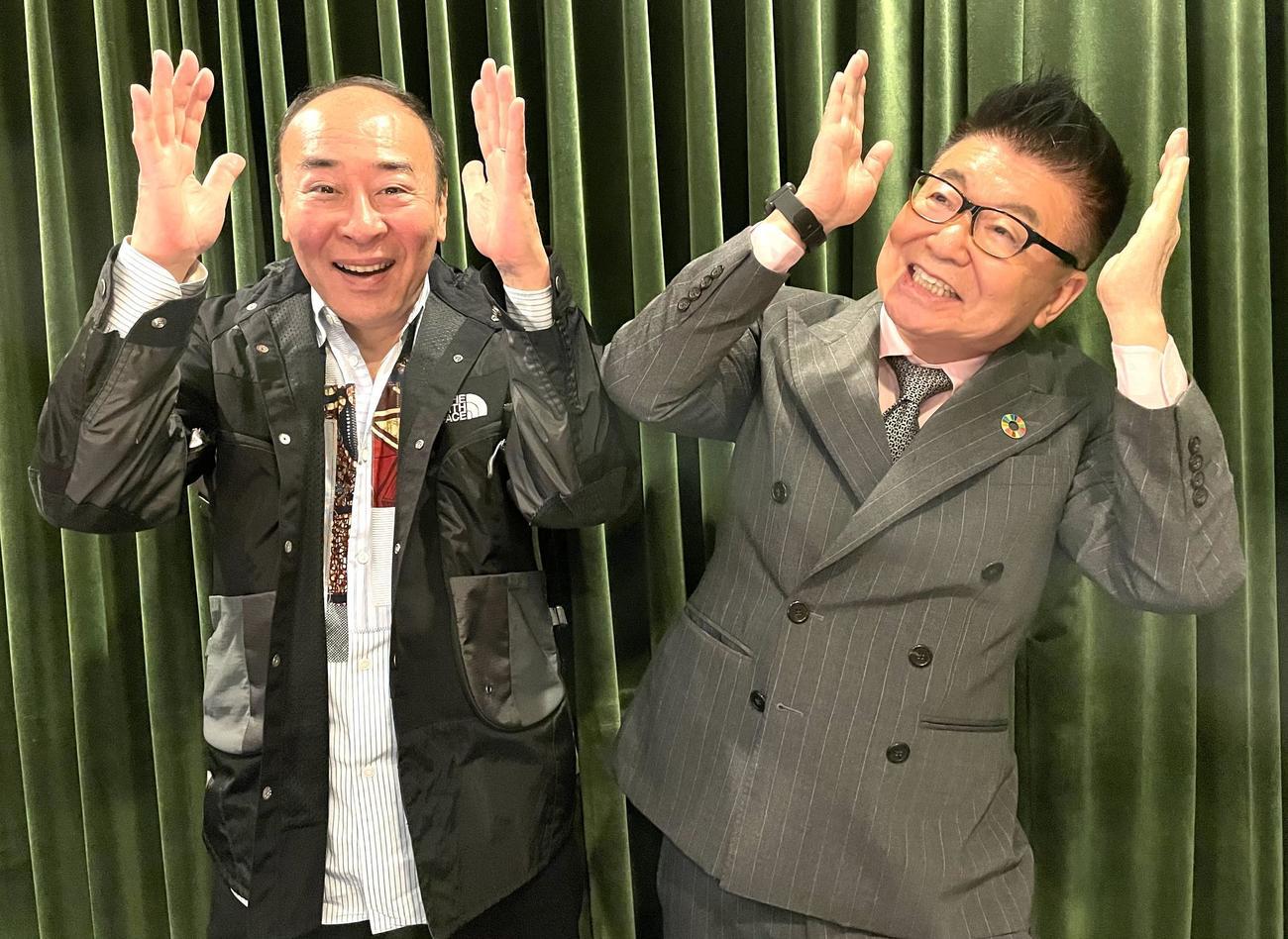 モト冬樹が生島企画室と業務提携 来月70歳古希、活躍の場広げる