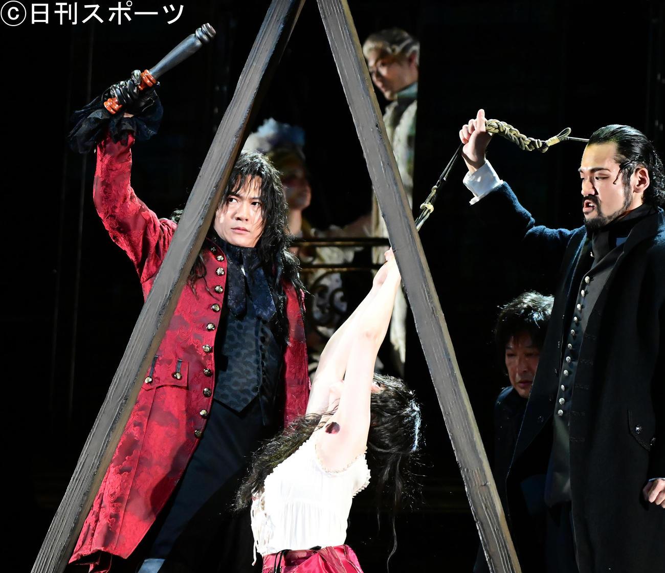 稲垣吾郎がマリー・アントワネットの首はねた死刑執行人役「良い緊張感」