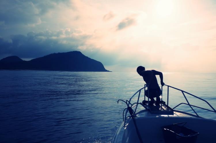 世界のどことも違う奄美大島、用安の海