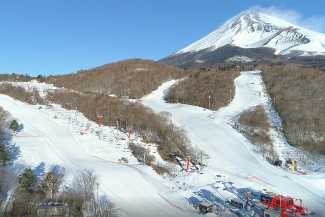 ウィンターシーズンを楽しむなら、富士山で