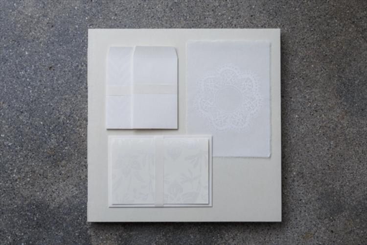 清らかな白の陰影が心伝える 紙の品「かみ添」