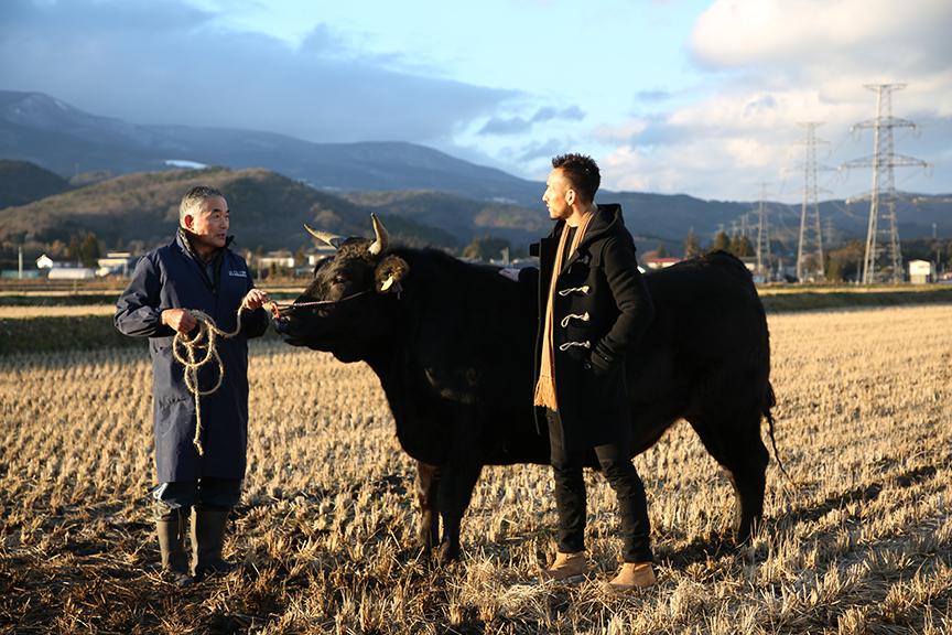 中田英寿 福島を旅する<#10> 来ました、福島。―「畜産業」