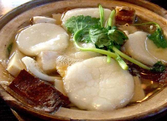 島原名物、姫松屋の貝雑煮