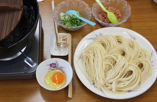 日本うどんの発祥の美味な五島手延べうどん