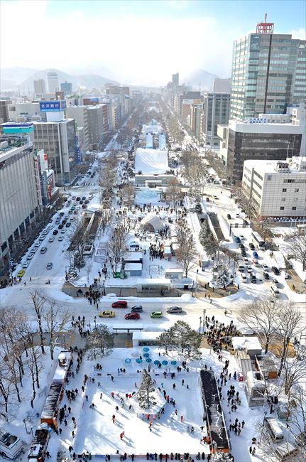 世界最大級の冬のイベント「さっぽろ雪まつり」は今年は2月12日まで