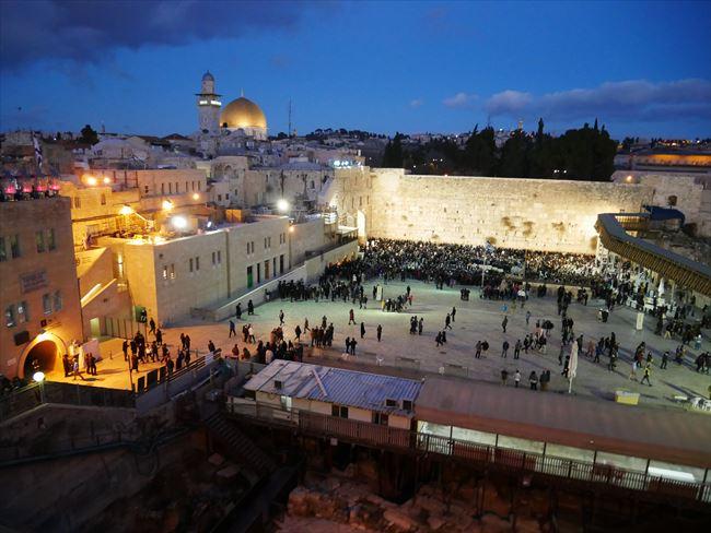 エルサレムの街並み(五月女菜穂撮影)