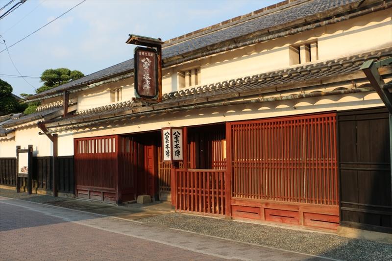 八雲本陣に使われた宍道町の木幡家住宅