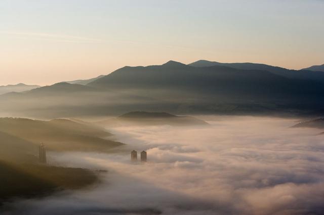 トマム産雲海