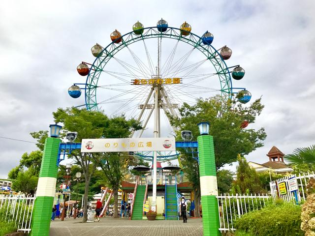 あらかわ遊園の観覧車は200円で乗ることができる。この日は曇り空だったが、東京スカイツリーを望むことができた。ひとりでも気楽に乗れる観覧車だ
