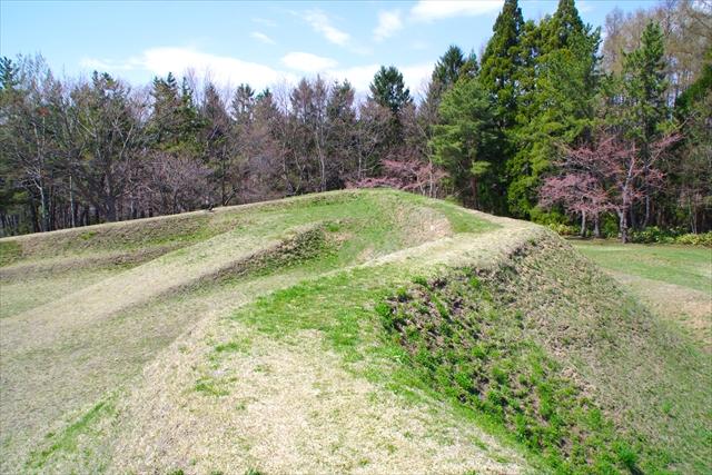 四稜郭の突出部のひとつ