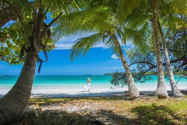 """世界遺産のラグーンに囲まれた海の宝石箱と称される美しい離島""""イル・デ・パン"""" ©Toko / NCTPS"""