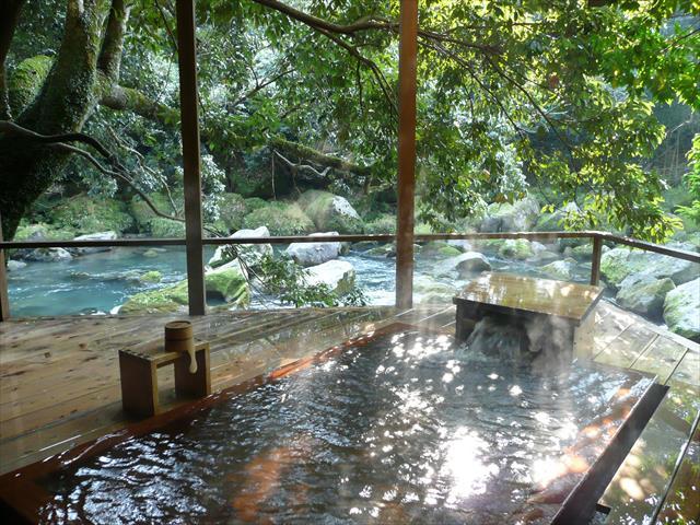 妙見温泉・妙見石原荘の「七実の湯」