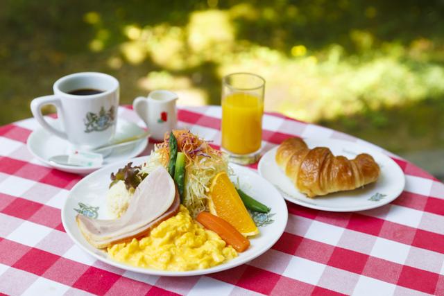 「京の朝食」(1440円・税込み)。午前11時まで提供