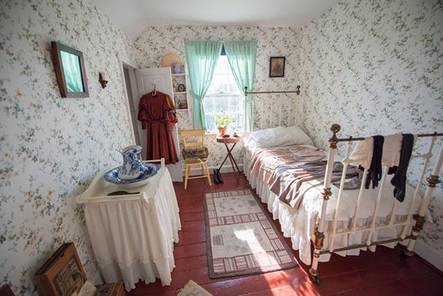 グリーン・ゲイブルズの中にある「アンの部屋」