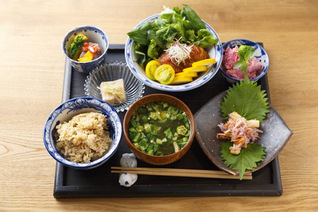 「季節の定食」(1,100円・税込み)