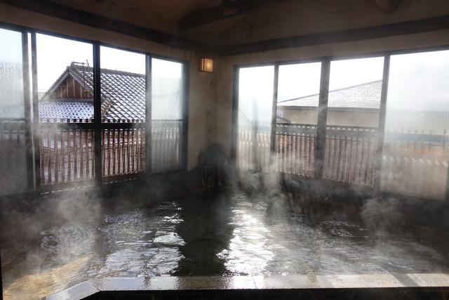 やわらかな肌触りの温泉