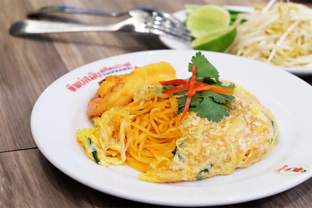 タイ・バンコクのショッピングセンターで食べる絶品麺