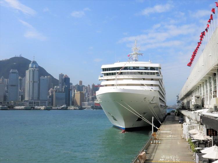 ラグジュアリー客船「シルバー・ミューズ」がアジアにやってきた