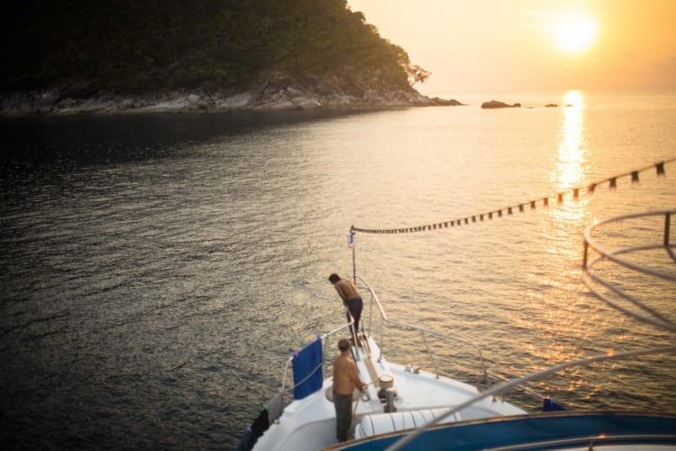 アンダマン海でダイビングざんまい、ボートトリップ6日間
