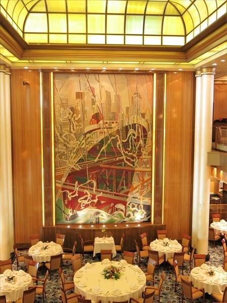 洋上の宮殿 クイーン・メリー2で上海から北九州へ