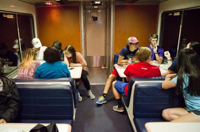 食べ物に泣きながら、南部の田園地帯を走る 世界の長距離列車・テキサスイーグル編(2)