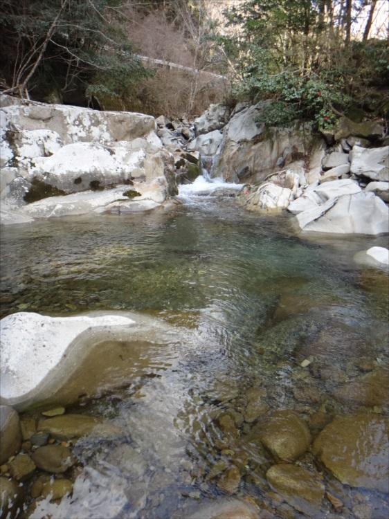 恵みの雨に期待してアマゴ釣り 和歌山県・四村川