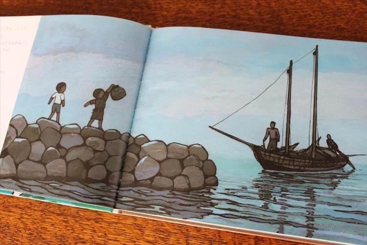 ふるさとの夏―長崎・大村の海を描いた絵本『だいちゃんとうみ』