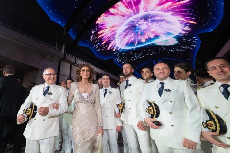 ゴッドマザーはソフィア・ローレン 「美」がテーマの客船「MSCベリッシマ」誕生