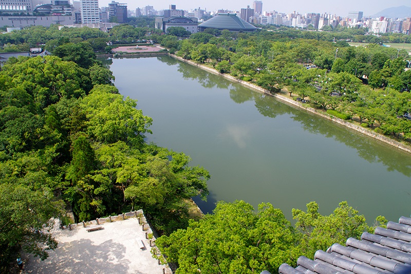 デルタに築かれた巨城 広島城(1)