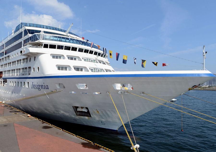 最高級の食を提供する客船「インシグニア」 船内を新デザインに