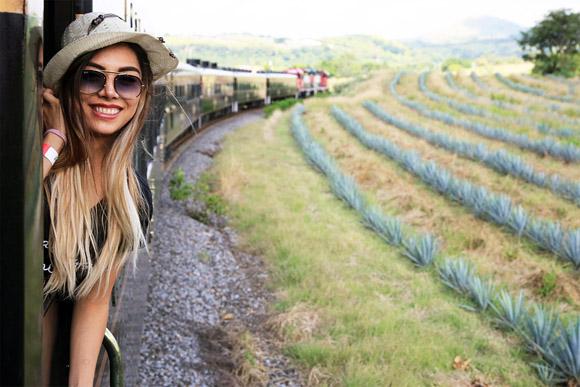テキーラ飲み放題の豪華列車「クエルボ・エクスプレス」でテキーラ村へ