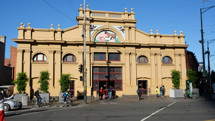 1878年に開かれた「クイーンビクトリアマーケット」