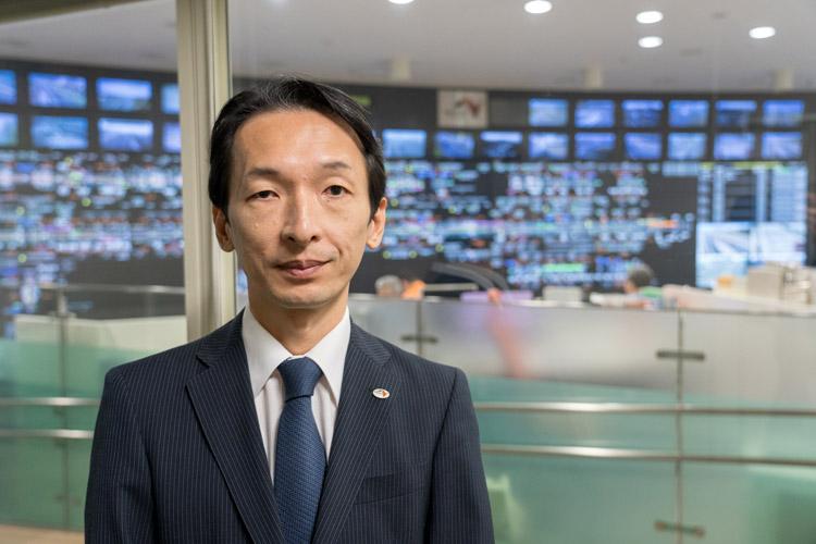 渋滞予測のプロ、高速道路ドライブアドバイザーの山本隆さん