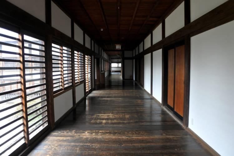 現存する本丸御殿、喜多院には江戸城の御殿も残る  川越城(2)
