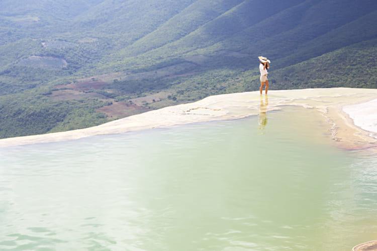 絶景の天然インフィニティ・プール「イエルベ・エル・アグア」メキシコ
