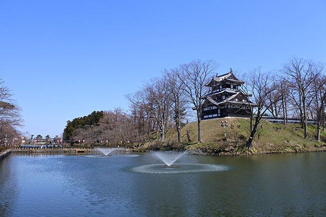 伊達政宗の指揮で築かれた広大な城 高田城(1)