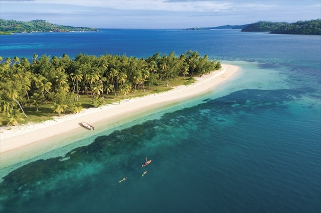 祝福された熱帯の楽園 洗練のリゾート・フィジー