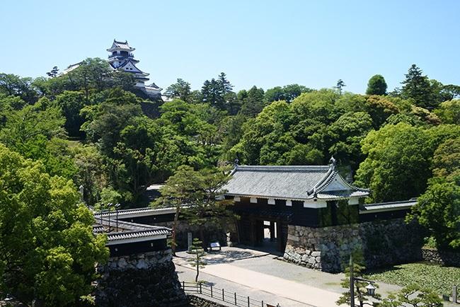 現存する天守と城門が一望できる高知城の新スポット 高知城(1)