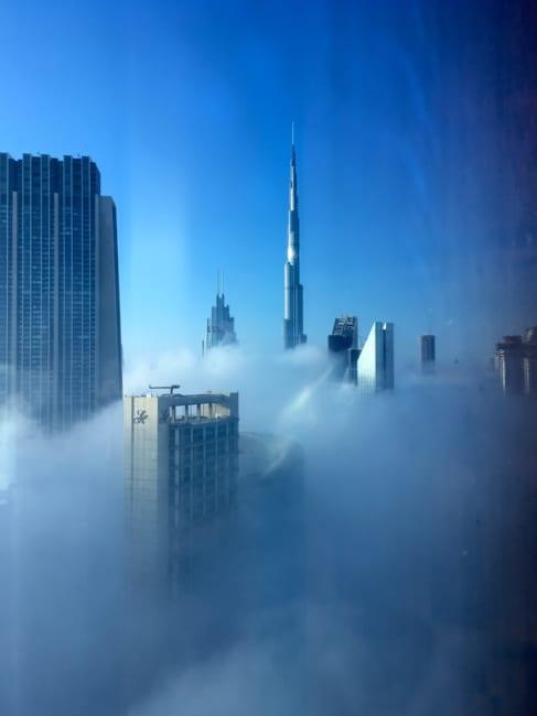 高さ585メートル「世界一高い場所」のラウンジ体験!  ドバイ「ブルジュ・ハリファ」