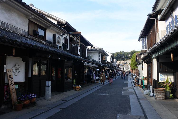城下町のような風情あふれる「天領」の町並みと倉敷代官所