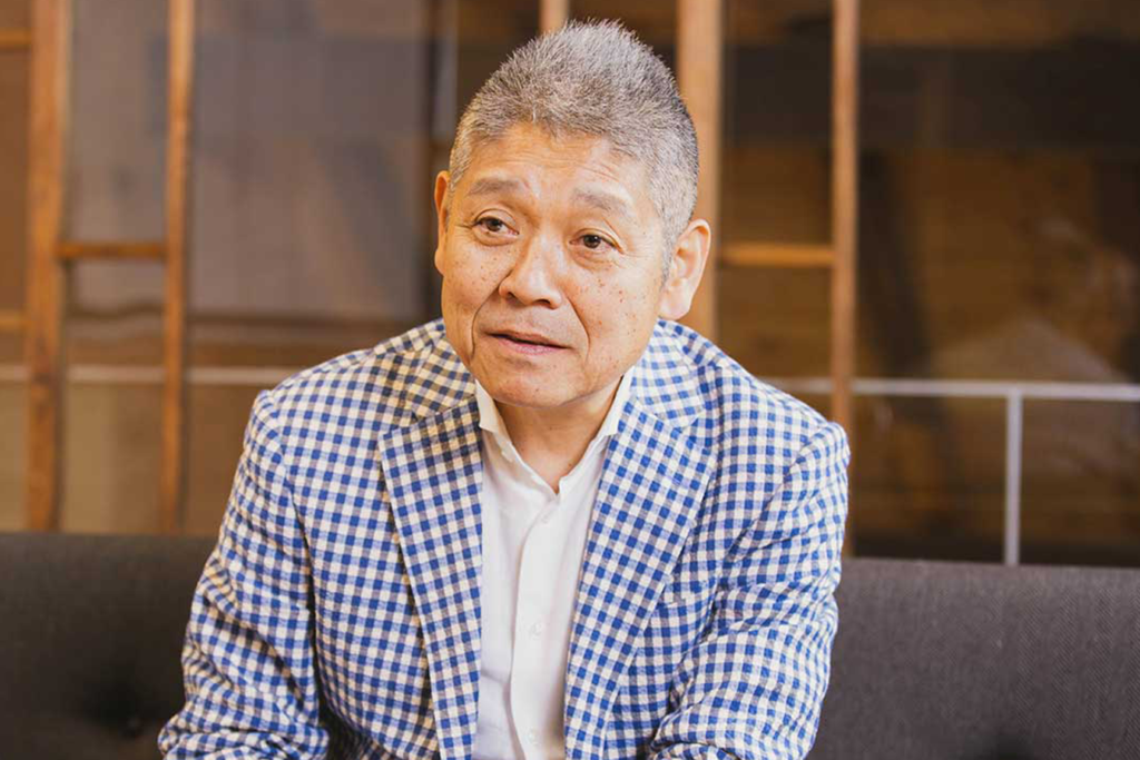 「はせがわ酒店」代表取締役社長の長谷川浩一さん