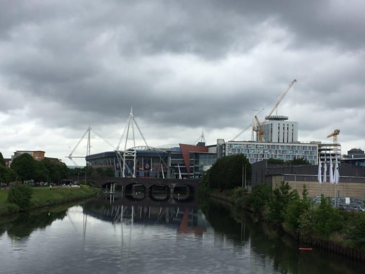 In Cardiff──#02カーディフの街とブリストルの話