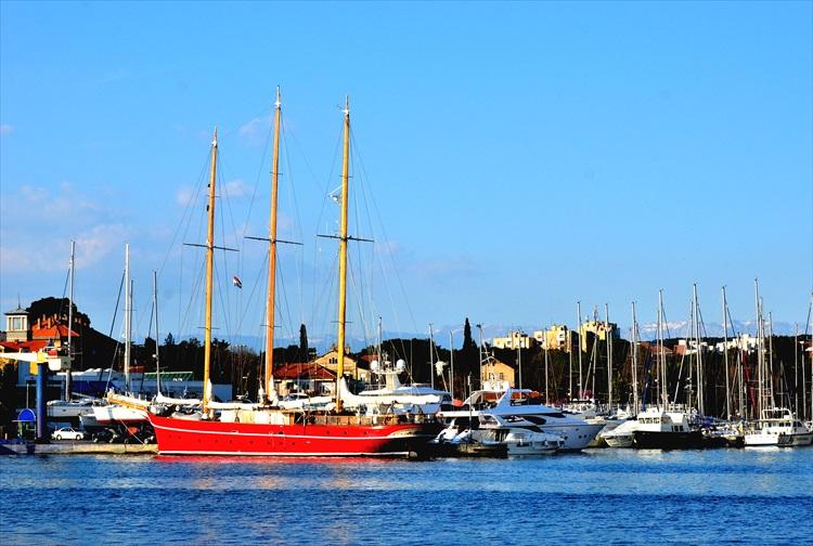 海のオルガンと友好のマグロ クロアチア・ザダル